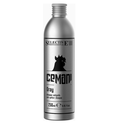 CEMANI GREY Szampon anti-yellow /250ml SELECTIVE PROFESSIONAL